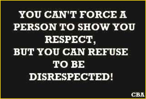 respect quotes deserve