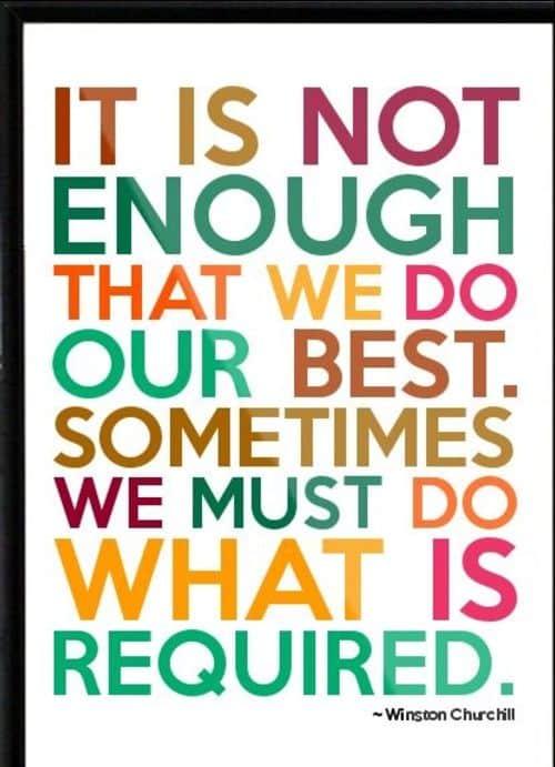 winston churchill quotes success