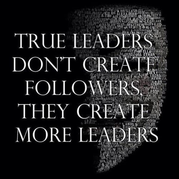 true leadership quotes