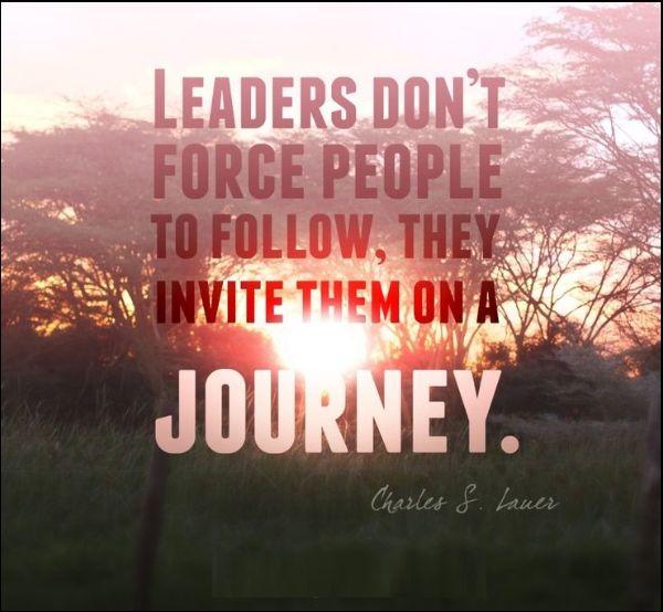 leadership journey quotes