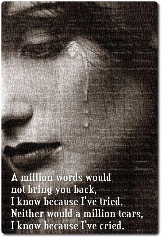 sad crying quotes