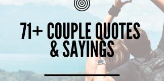 Cute and funny couple quotes and sayings