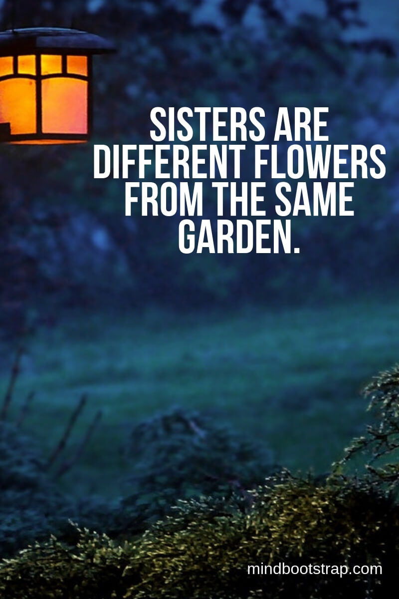 inspiring sister quotes and sayings to express your feeling of