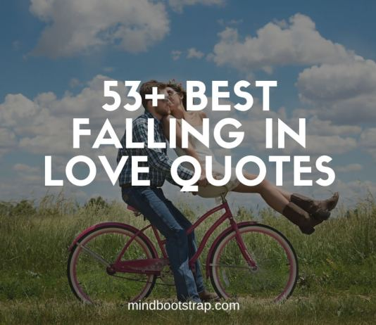 Best Falling In Love Quotes & Sayings For Him and Her