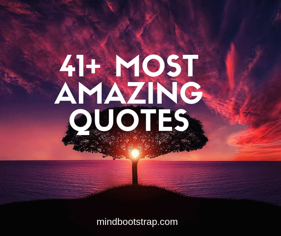 41+ Most Amazing Quotes and Sayings