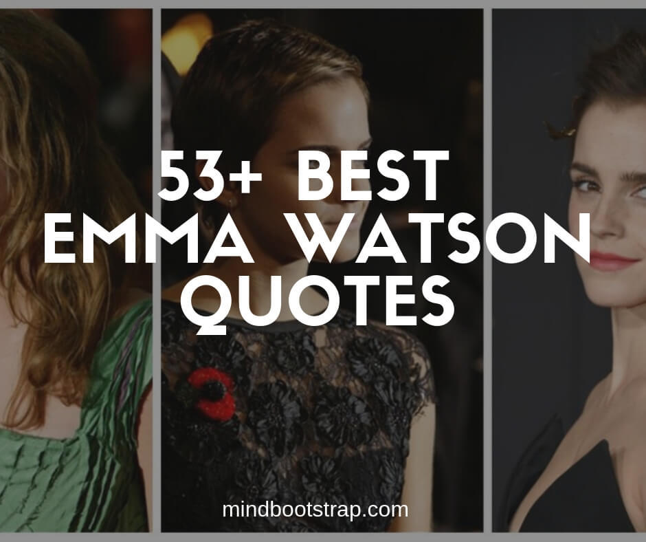 best Emma Watson quotes and sayings