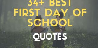 Inspirational first day of school quotes