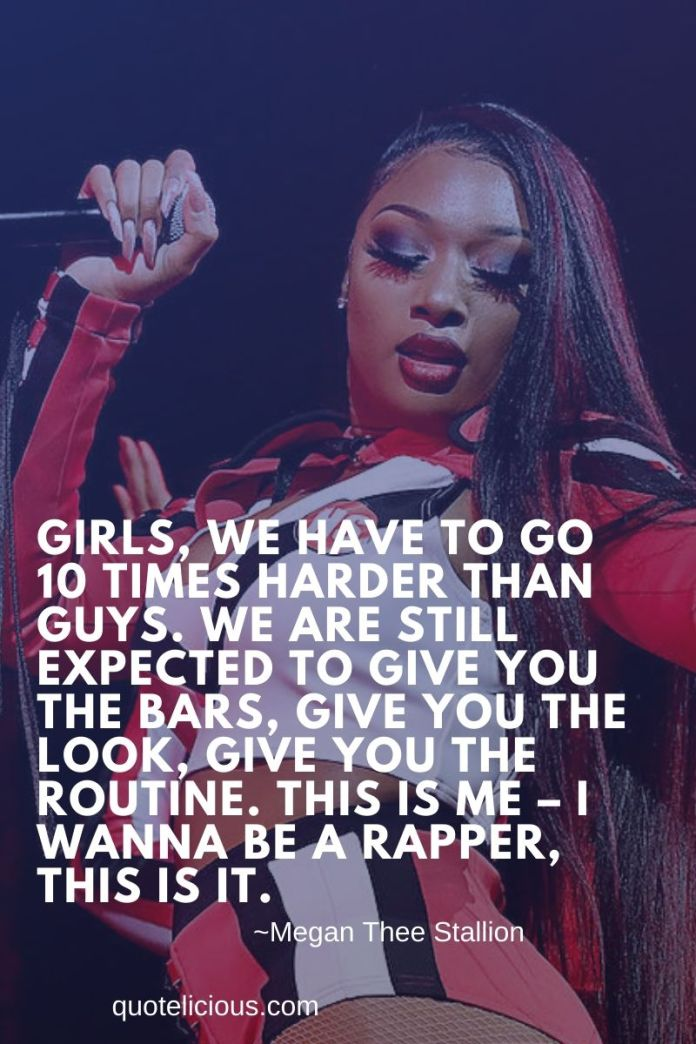 37 Inspirational Megan Thee Stallion Quotes And Sayings On Success
