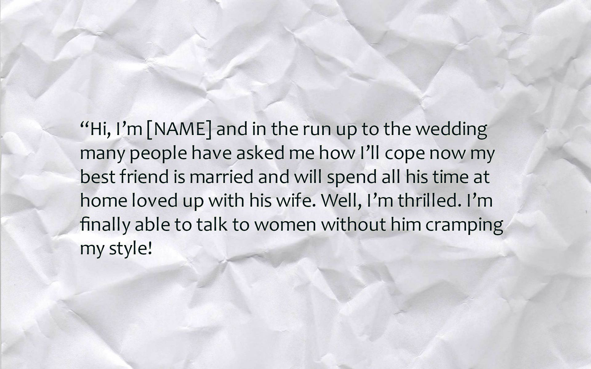 Funny Best Man Speeches Text Amp Image Speeches On QuoteReel