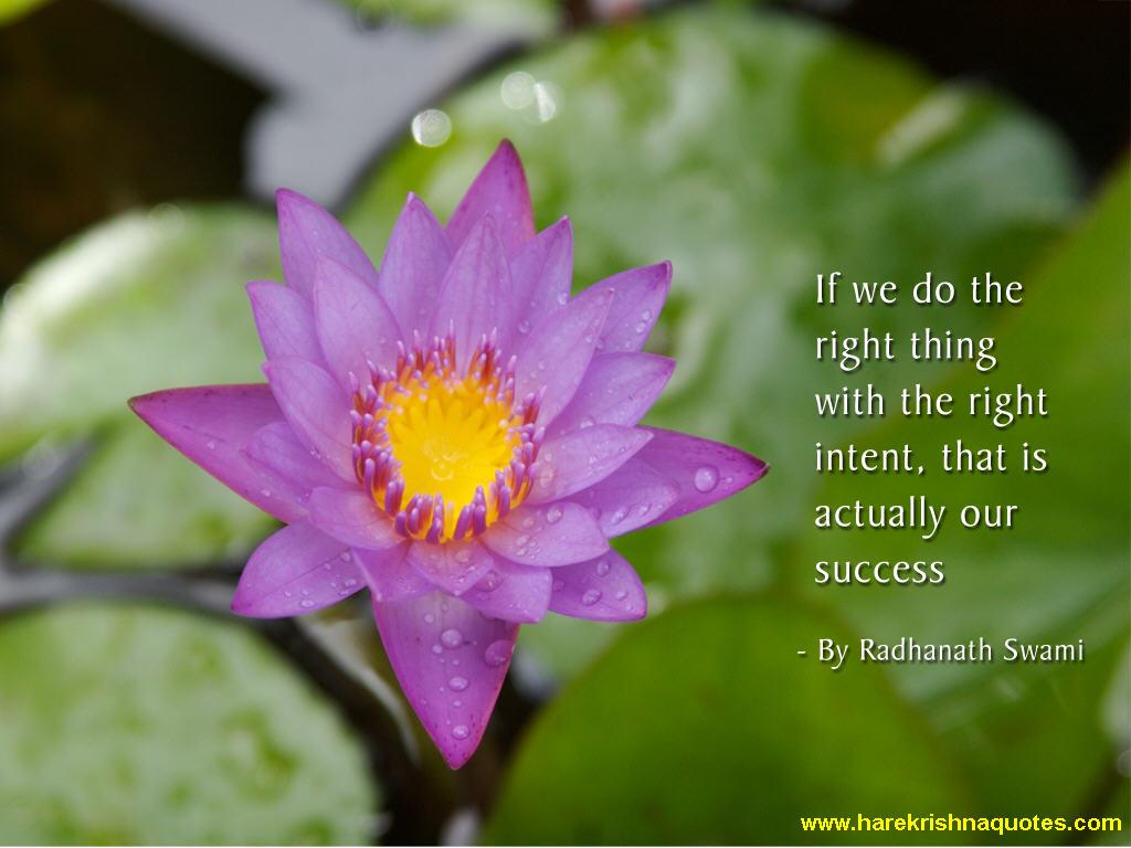 Radhanath Swami on Success