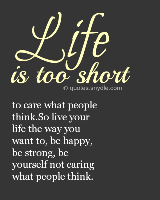 Life About Happy Living Quotes