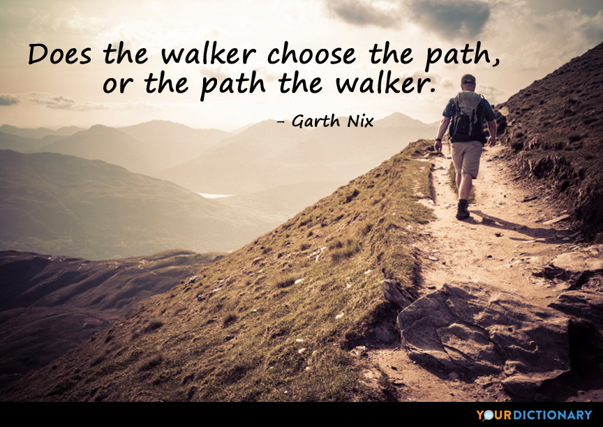 Image result for garth Nix path quote