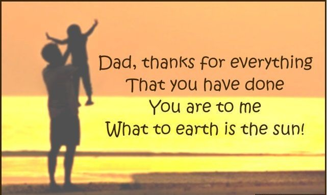 Thank You Dad Messages Every Dad Will Appreciate | Quotes4Day