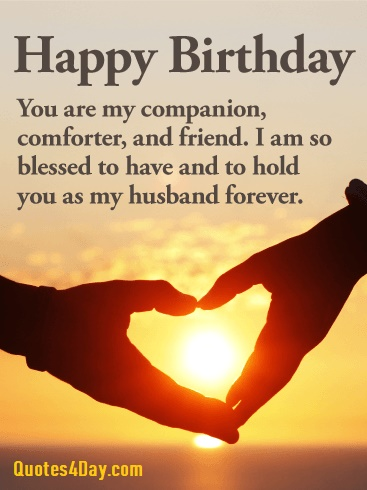 111 Romantic Happy Birthday Wishes For Husband Quotes4day