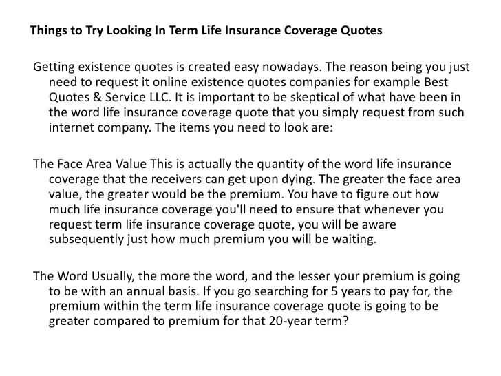 Term Life Online Quote Mesmerizing 5 Year Term Life Insurance Quotes 02  Quotesbae