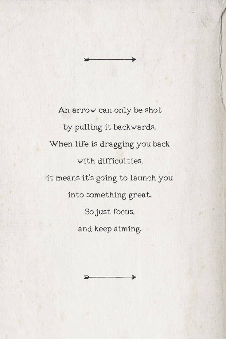 Arrow Quotes Life 25 Arrow Quotes Life Sayings And Pictures  Quotesbae