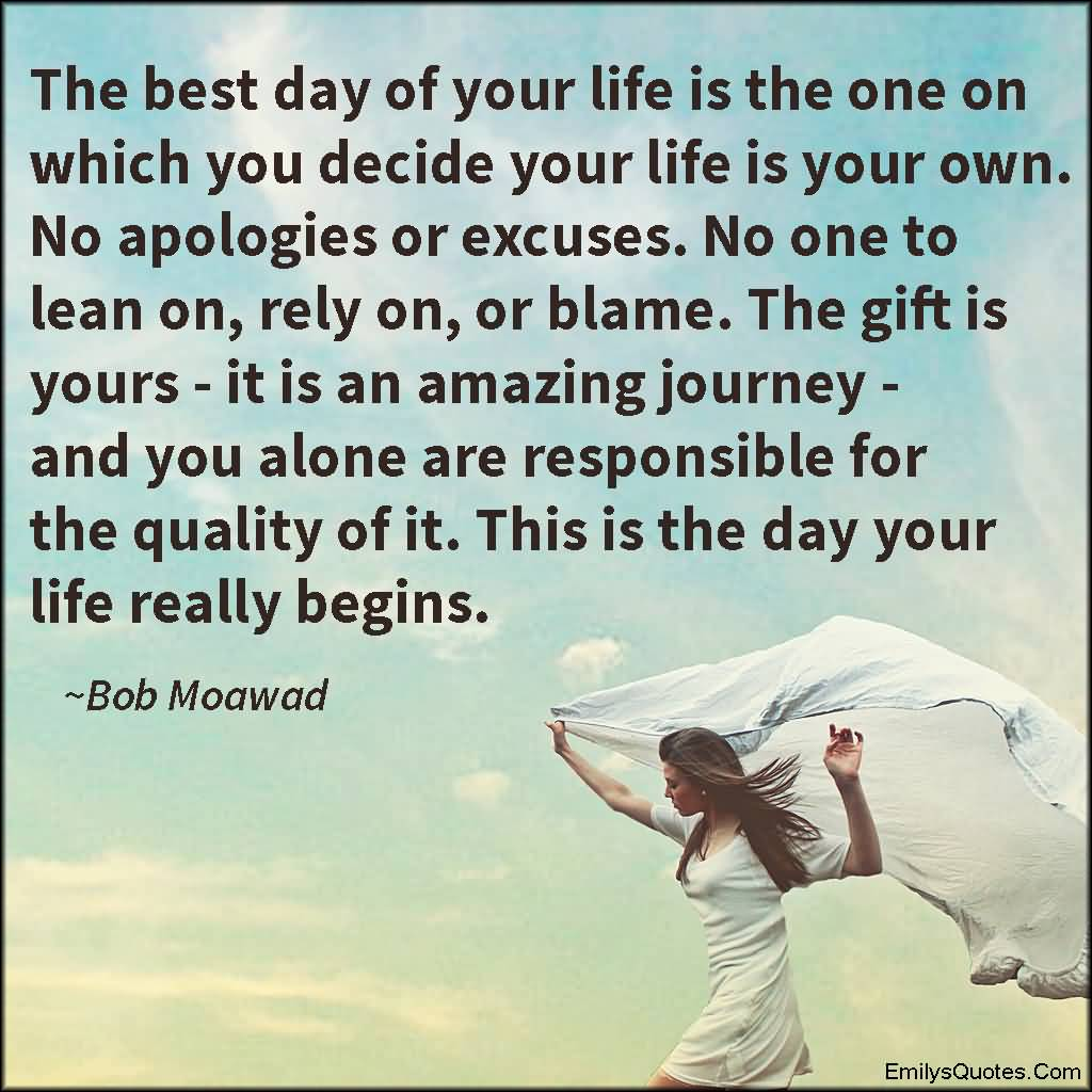 Best Quote Of The Day About Life