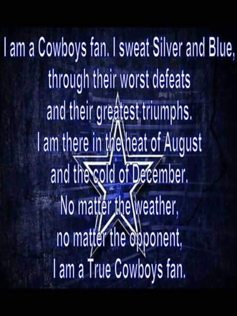 Dallas Cowboys Quotes Captivating 25 Dallas Cowboys Quotes And Sayings Collection  Quotesbae