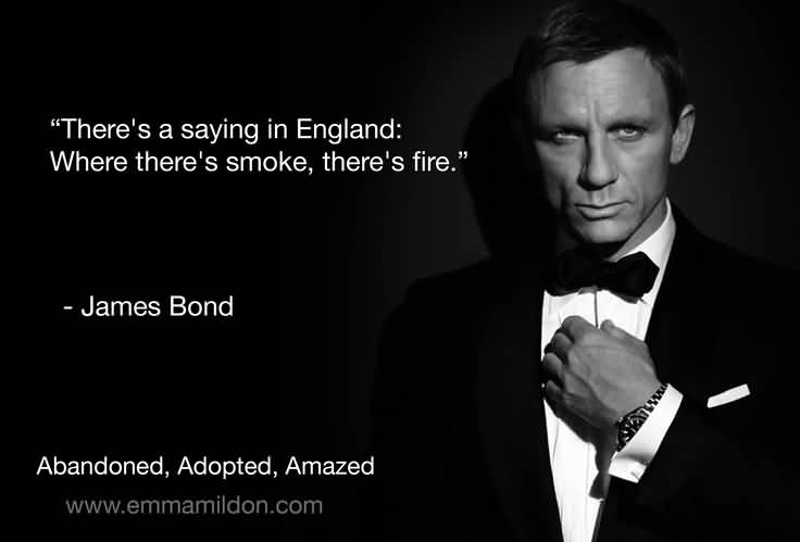 Bond Quotes Awesome 25 James Bond Quotes And Sayings Collection  Quotesbae