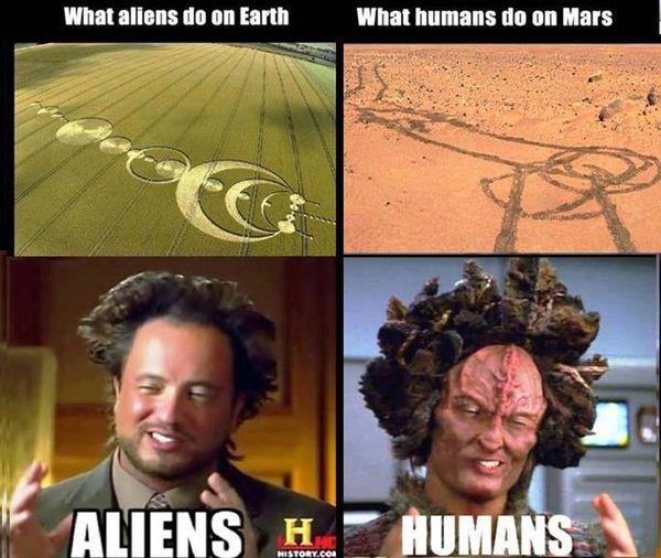 Best aliens guy meme image