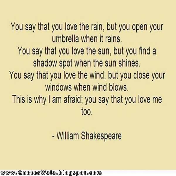 Shakespeare Love Quotes Unique Famous Shakespeare Love Quotes 07  Quotesbae