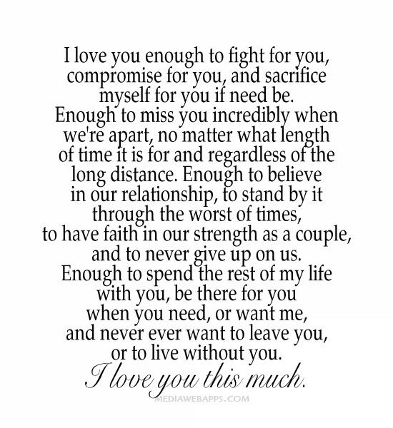Fight For Your Love Quotes 07