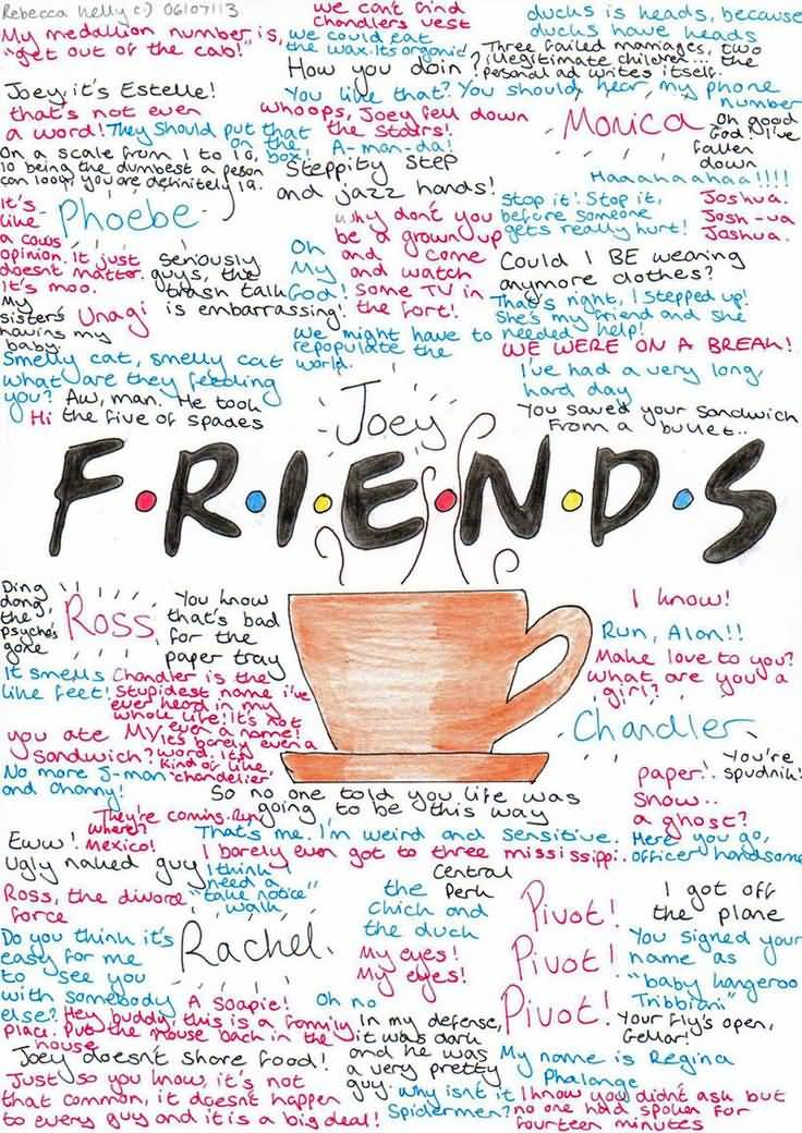 Friends Tv Show Quotes About Friendship Pleasing Friends Tv Show Quotes About Friendship 16  Quotesbae