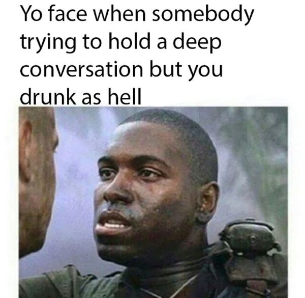 Funny drunk face meme Joke