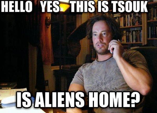 Giorgio tsoukalos aliens meme photo