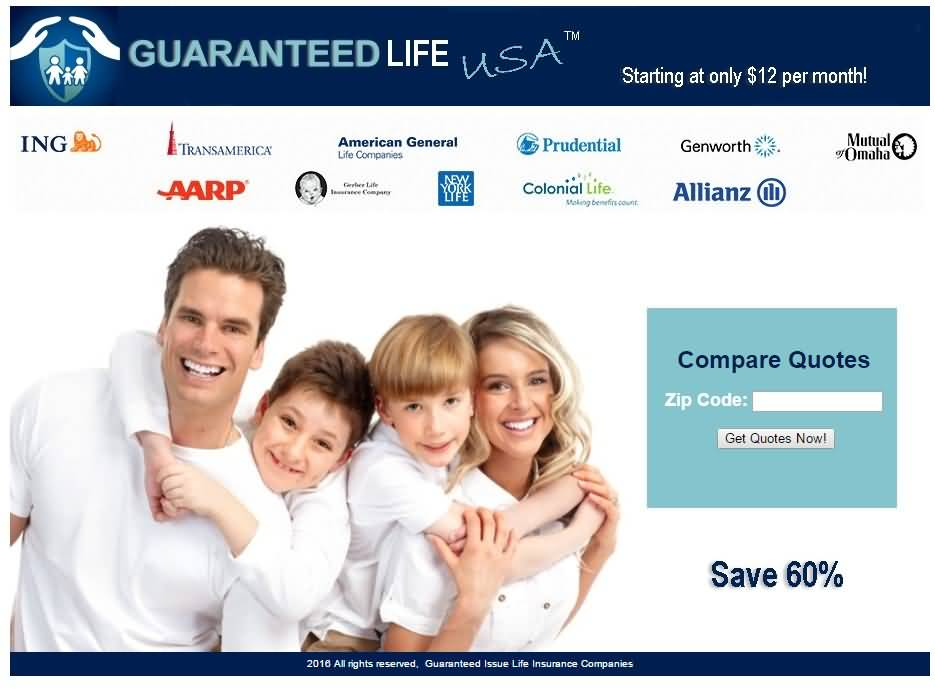 Guaranteed Life Insurance Quotes Alluring Guaranteed Life Insurance Quotes 02  Quotesbae