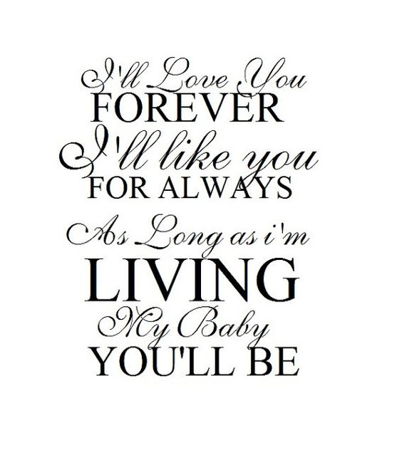 I Ll Love You Forever Book Quotes Glamorous 20 I Ll Love You Forever Book Quotes & Images  Quotesbae