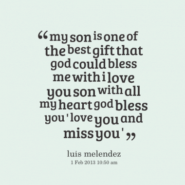 I Love My Son Quotes And Sayings Fascinating I Love My Son Quotes And Sayings 20  Quotesbae