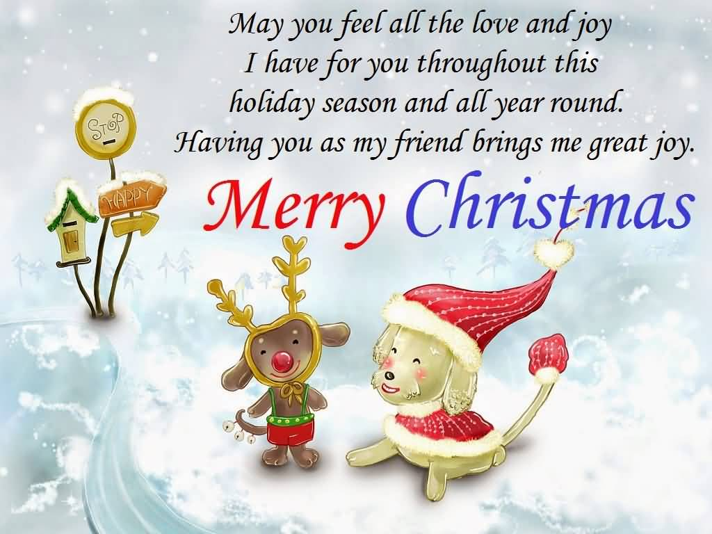 Love Quotes For Friends Christmas Quotes For Friends Image Picture Photo Wallpaper 05