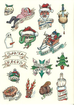 Christmas Tattoo Design Ideas Image Picture Photo 11