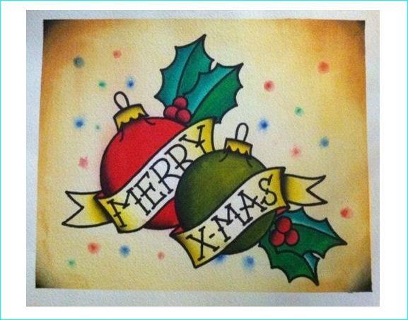 Christmas Tattoo Design Ideas Image Picture Photo 15