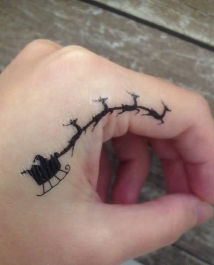 Christmas Tattoo Design Ideas Image Picture Photo 20