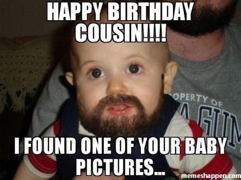 Happy Birthday Cousin Meme Female