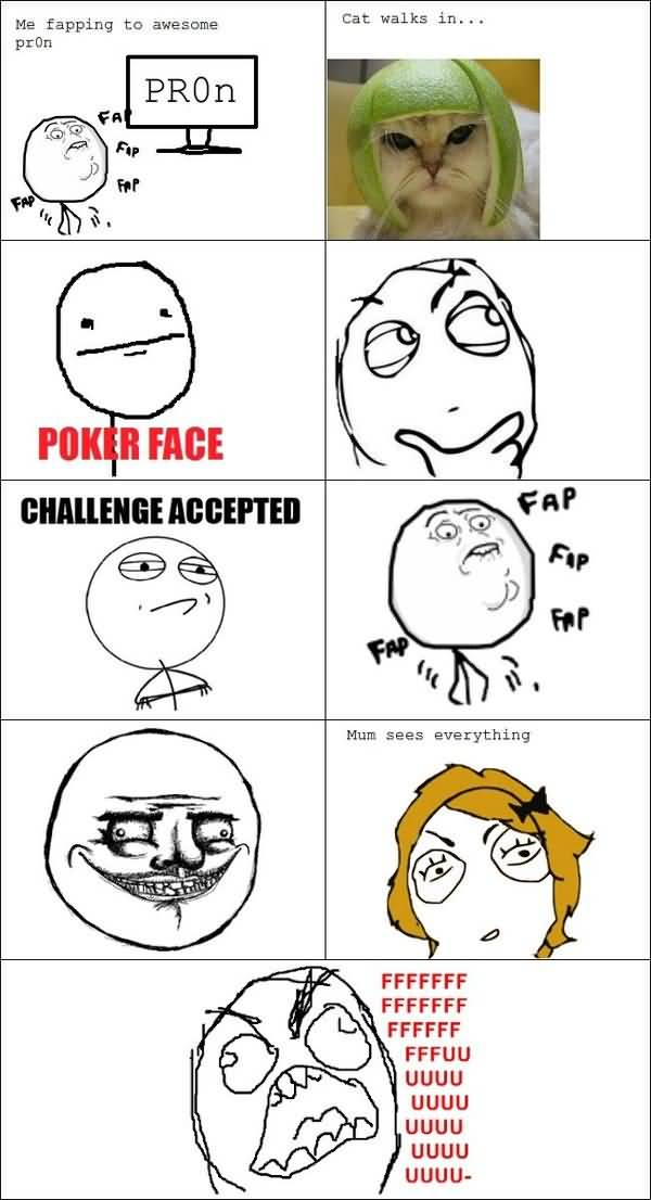 Funny Challenge Accepted Comics Image