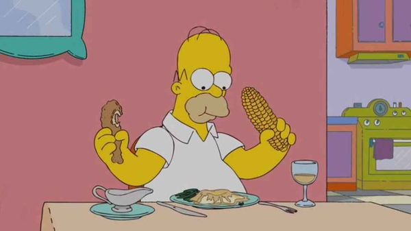 Funny best homer simpson drooling picture memes