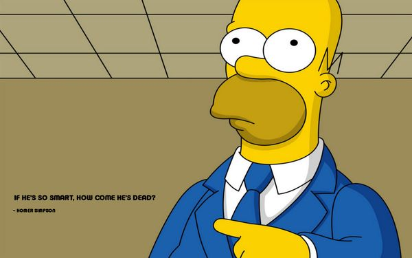 Funny best homer simpson slobbering images