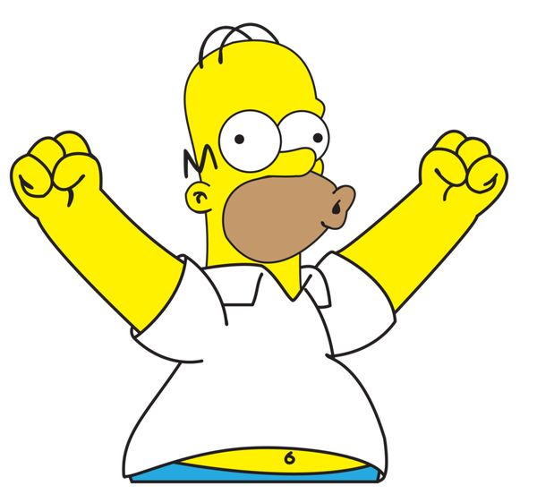 Funny common homer simpson drooling pic meme