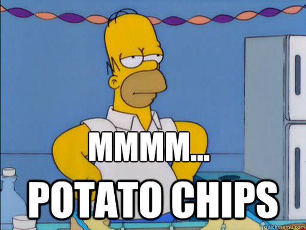 Hilarious good homer simpson mmm meme image