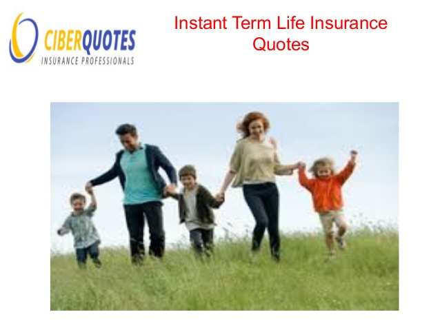 Term Life Insurance Instant Quote Captivating Instant Term Life Insurance Quotes Online 15  Quotesbae