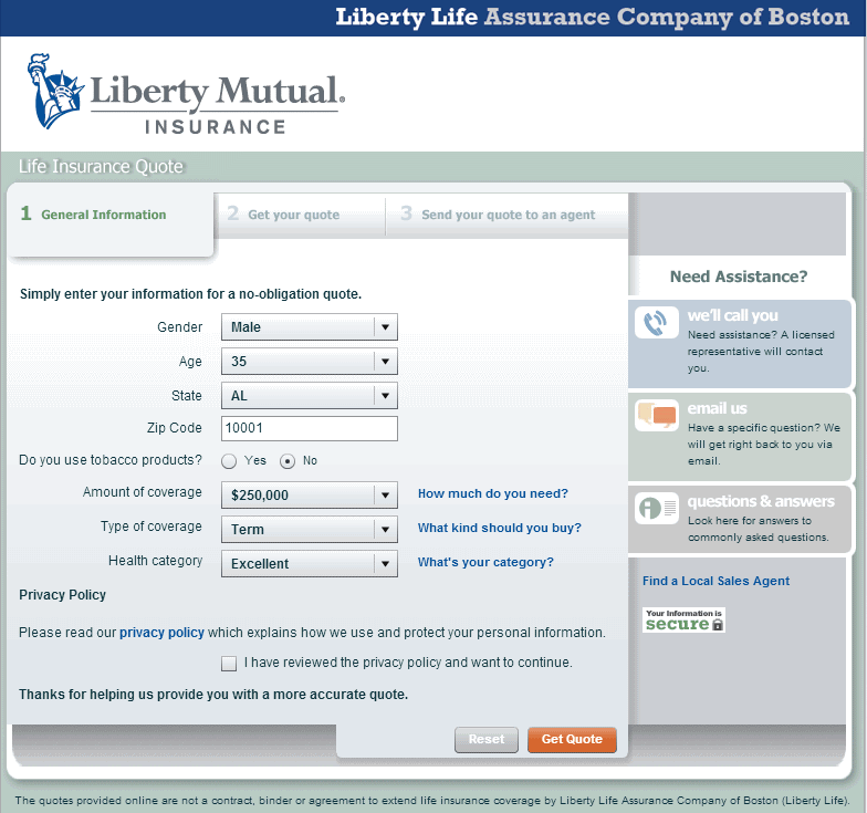 Liberty Mutual Life Insurance Quotes Entrancing Liberty Mutual Life Insurance Quote 17  Quotesbae