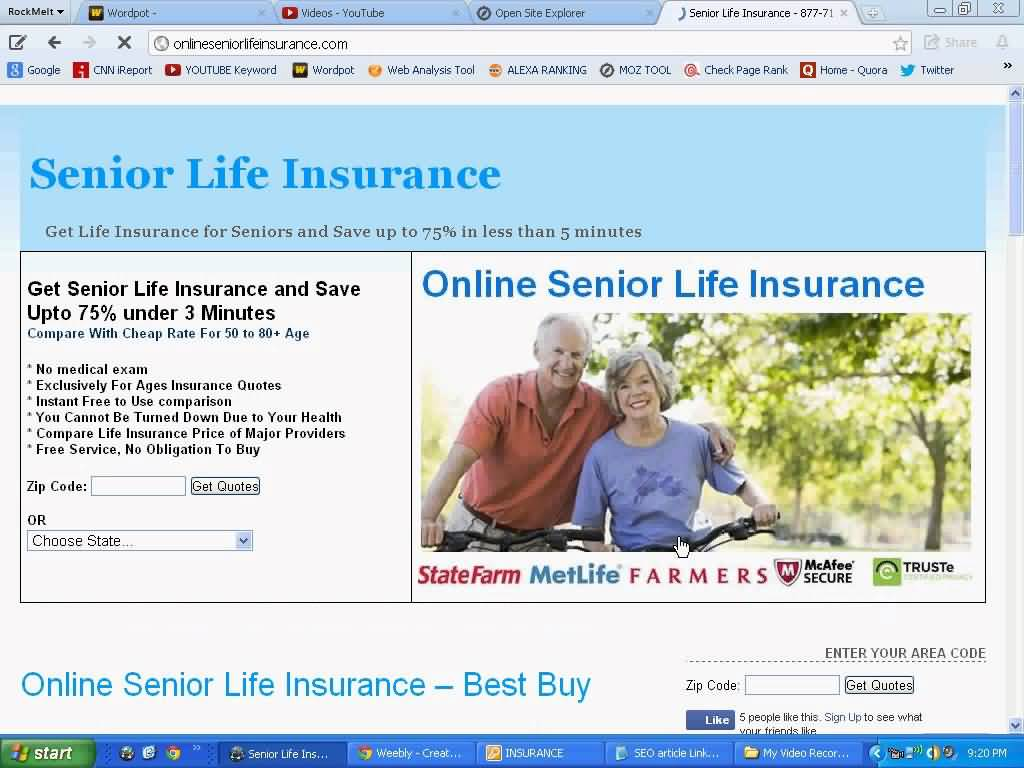 Life Insurance Quotes Comparison Life Insurance Quotes For Seniors Over 75 10  Quotesbae