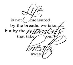 Life Is Not Measured By The Breaths Quote Inspiration Life Is Not Measuredthe Breaths Quote 02  Quotesbae
