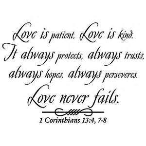 Quote Love Is Patient Custom Love Is Patient Quote 12  Quotesbae