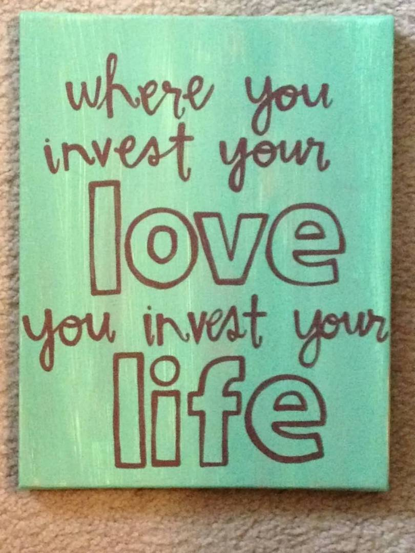 Love Quote Canvas 20 Love Quote Canvas Sayings Images & Pictures  Quotesbae