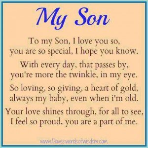 Love Quotes For My Son 17