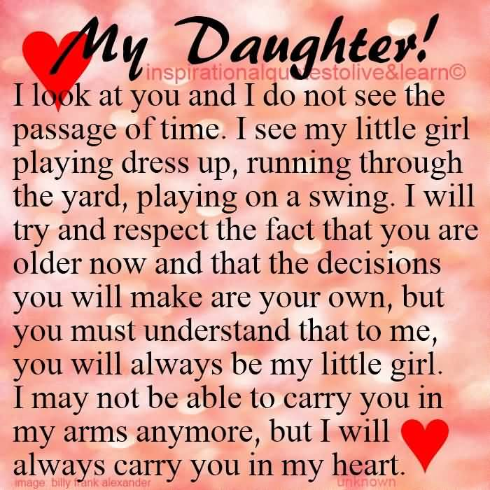 Love Quotes To Daughter Brilliant 20 Love Quotes To Daughter With Beautiful Slogans  Quotesbae
